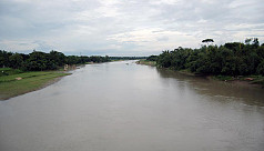 Dhaleshwari River under threat of...
