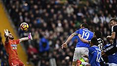 Belotti scores hat-trick, Juve extend...