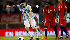 Messi saves the day for Argentina