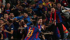 Barcelona hit PSG for six in historic...