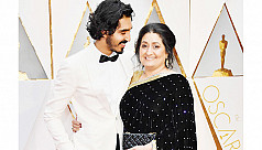 Dev Patel brings his mother to the...