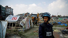 Nepal bulldozes earthquake survivors'...