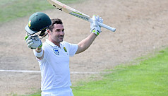 Elgar century lifts South Africa in...