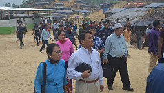 Rohingya refugees claim Myanmar delegation...
