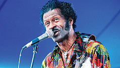 Chuck Berry's first new album in 38...