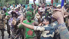 BSF and BGB celebrate Holi
