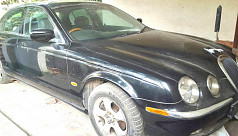 Luxurious Jaguar seized for illegal...