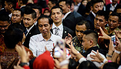 Celebration and protest as Indonesian...