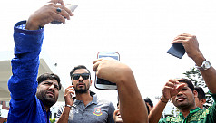 Thank God for Mashrafe, the captain...