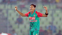 Mustafizur leaves Dhaka to join...