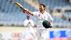 Younis reaches 10,000 Test runs in first...