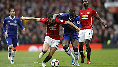 Man United rock Chelsea to ignite title...