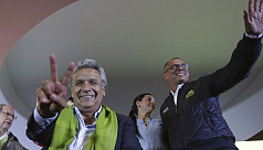 Leftist claims win in Ecuador election,...