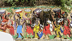 Vandals destroy Pohela Boishakh