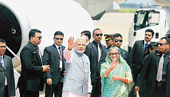Hasina to leave for New Delhi