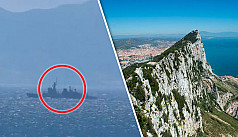 Spanish ship enters Gibraltar waters,...