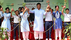 Green Dhaka Campaign held at Adamjee...