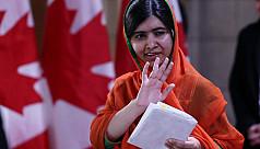 Malala becomes honorary Canadian...
