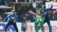 Plucky Sri Lanka deny Bangladesh series...