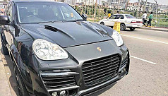 Owner abandons illegal Porsche SUV for...