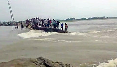Paddy production hit by flood in the...