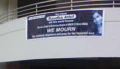 Raudha Athif's father suspects...