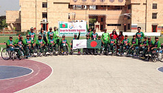Bangladesh's Shafiqul scores record...