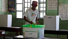 Myanmar goes to polls for by-elections,...