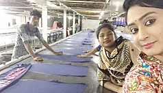 Swagata to be seen as a garments...