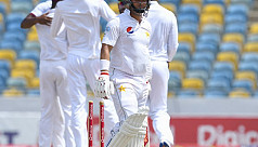 Windies level series as Pakistan fall...