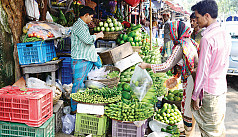Grocery prices triple as month of fasting...