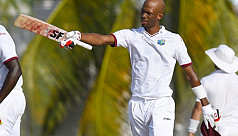Chase century lifts Windies out of trouble...