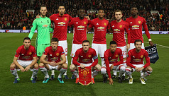 Manchester United ranked as Europe's...