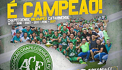 Chapecoense win first trophy since plane...