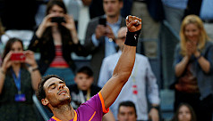 Nadal overpowers Thiem to win fifth...