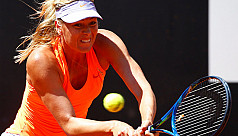 Sharapova on course for Wimbledon after...