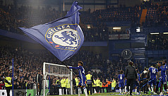 Chelsea celebrate title with 4-3 romp...