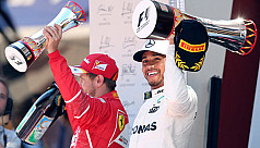 Hamilton wins in Spain with Vettel...