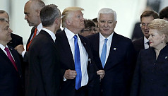 Watch: Trump appears to shove Montenegro...