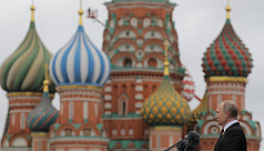 Russia shows off military muscle at...