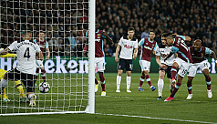 Tottenham suffer title blow with West...