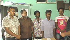 Four Food Department employees caught...