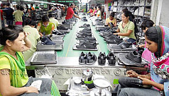 Well-shod shoppers give Made in Bangladesh...