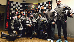 Tigers go go-karting in Dublin