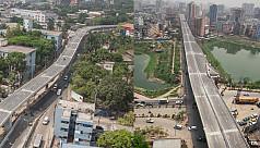 Moghbazar-Karwan Bazar flyover...