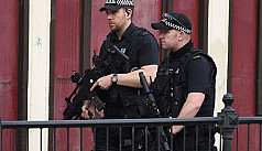 Armed police carry out fresh raid in...