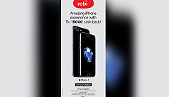 Robi brings cash back offer for iPhone...