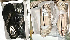 Women's shoes worth Tk1.1m seized at...