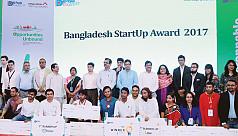 Govt awards top 10 start-up firms