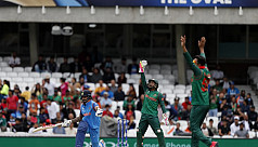 India humiliate Bangladesh by 240 runs...